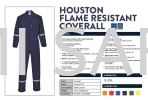Fire Retardant Coverall Coverall Protective Clothing