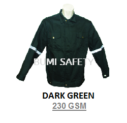 Safety Jacket Dark Green