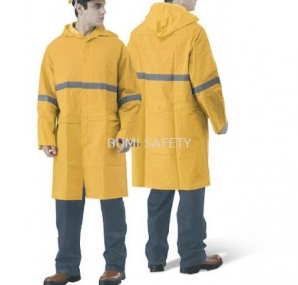 Rain Coat With Reflector