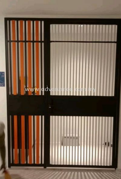 Mild Steel Grille Door For Your Condominium