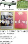 BLUE SINGLE BEDSHEET E-Shopping