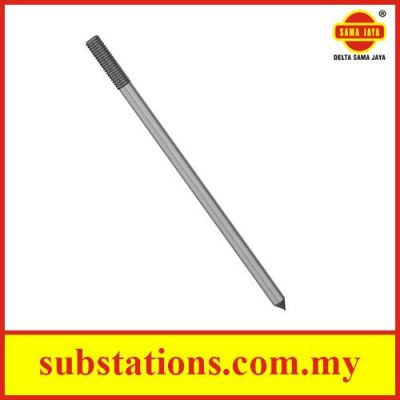 Hot Dip Galvanised Steel Earth Rod
