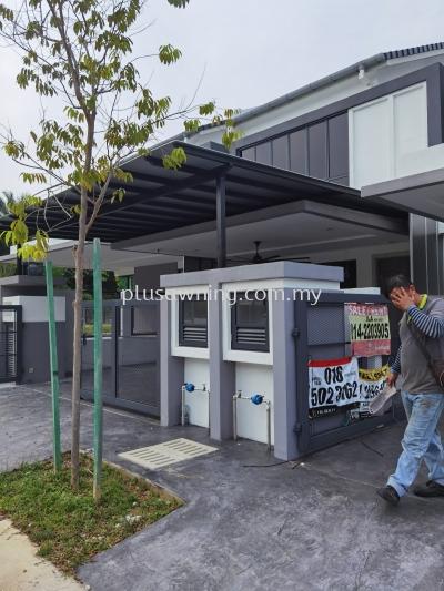 Alumbond Composite Panel @Jalan Electron U16/54E, Denai Alam, Selangor