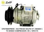 CPDTNDKPRERC - KIA PREGIO DELPHI V7 ( MANDO ) TO DENSO COMPRESSOR ( RC ) 10PA17C