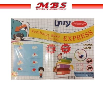 PEMBALUT BUKU TULIS CLEAR / EXERCISE BOOK COVER