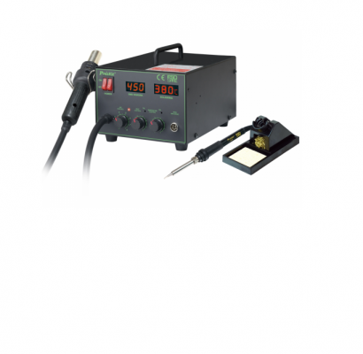 PRO'SKIT - SS-989B 2 IN 1 SMD HOT AIR REWORK STATION