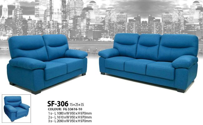 HY-2 306-1+2+3/2+3 Sofa set