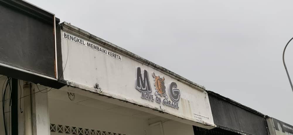 3d Boxip Signboard At Ijok Selangor