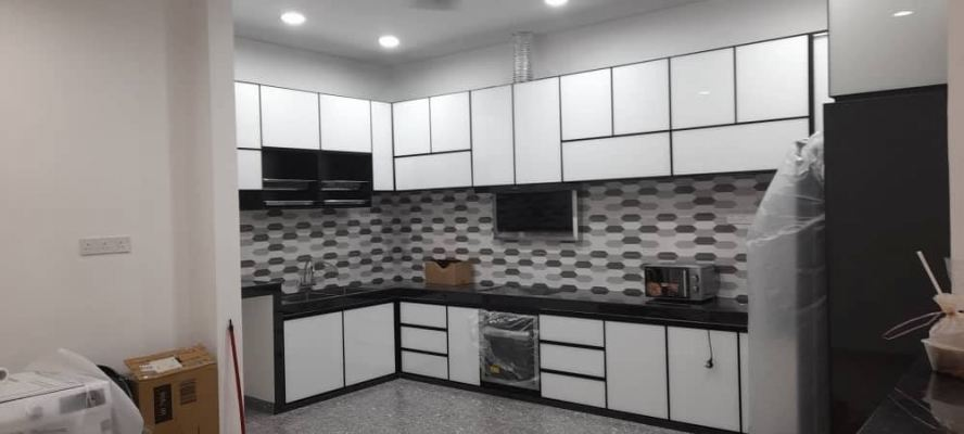 Casaview Aluminium Kitchen Cabinet