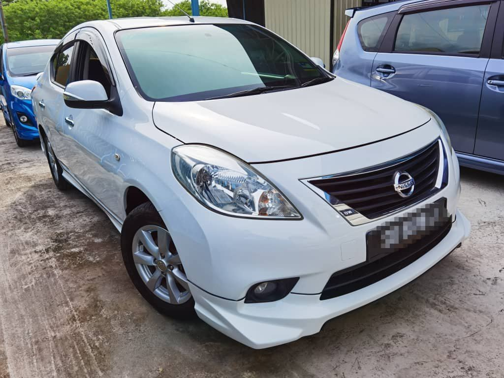 2012 Nissan ALMERA 1.5 V (A) Full Loan