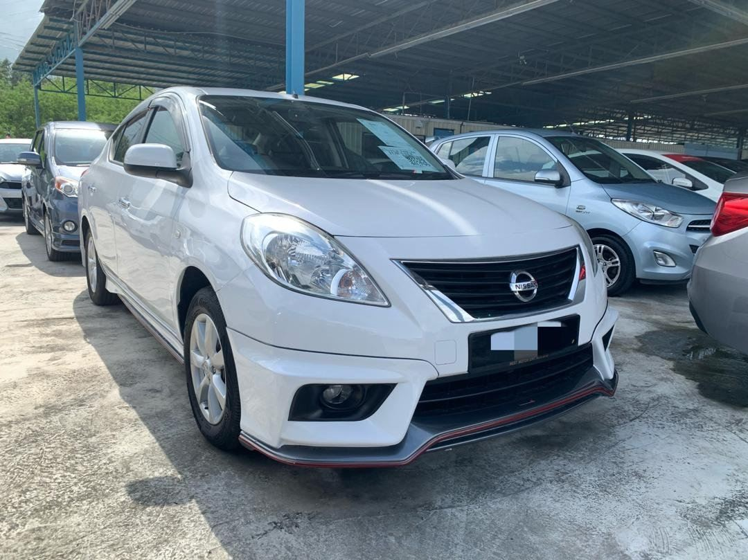 2014 Nissan ALMERA 1.5 E (A) FULL LOAN