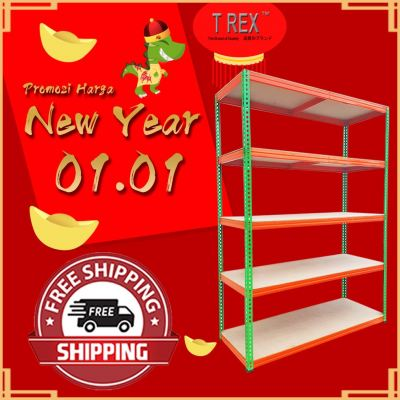 T Rex 5 Tiers Warehouse Boltless Rack - Racking System