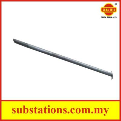 HDG Stay Rod c/w Nut and Washer