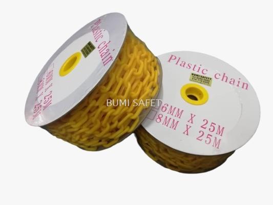 Plastic Chain Yellow
