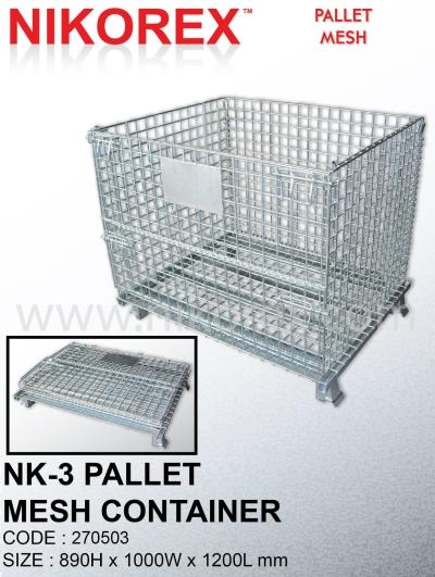 270503 - Pallet Mesh NK3 (89Hx120Lx100Dcm)