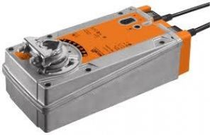 BELIMO EF230A-S2 OPEN-CLOSE SPRING-RETURN DAMPER ACTUATOR 30NM, 230VAC, 50/60HZ (WITH 2xAUX. SWITCH)