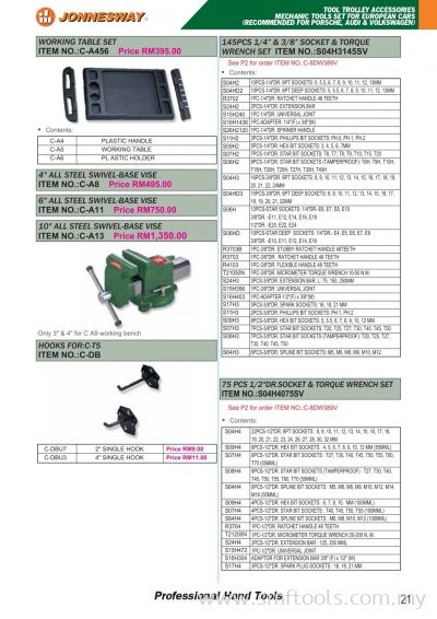 Tool Trolley Accessories Mechanic Tools Set For European Cars