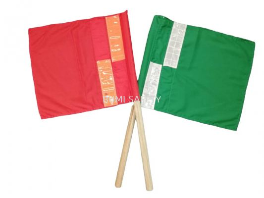 Traffice Flag With Reflector