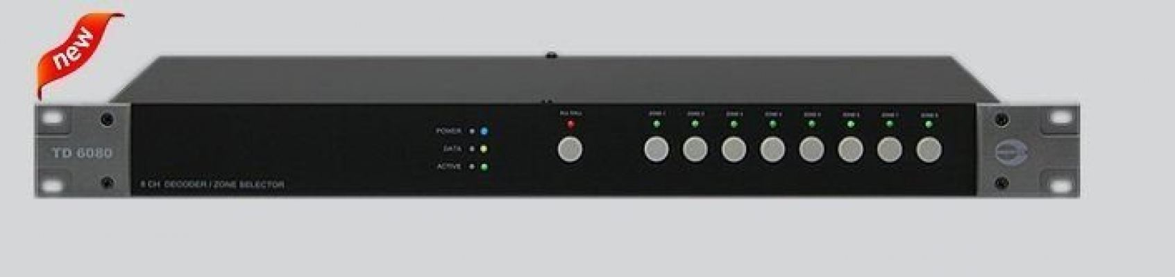 TD6400. Amperes 2 x 4 Ch Zone Decoder / Matrix Extender. #AIASIA Connect