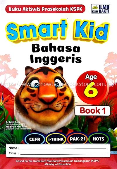 SMART KID BAHASA INGGERIS BUKU 1 - 6 TAHUN