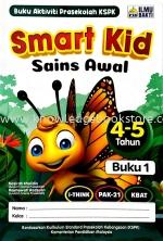 SMART KID SAINS AWAL BUKU 1 - 4&5 TAHUN
