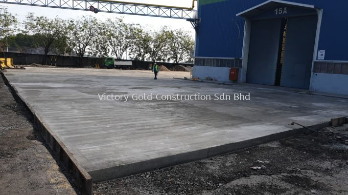 Concrete work and Premix Road Project