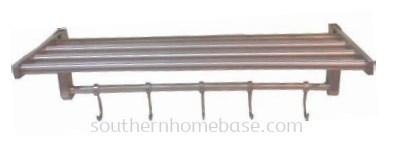 STAINLESS STEEL TOWEL RAIL WITH HOOK E139N
