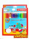 Stabilo Swans Jumbo 18 Color Pencils Color Pencil Stationery
