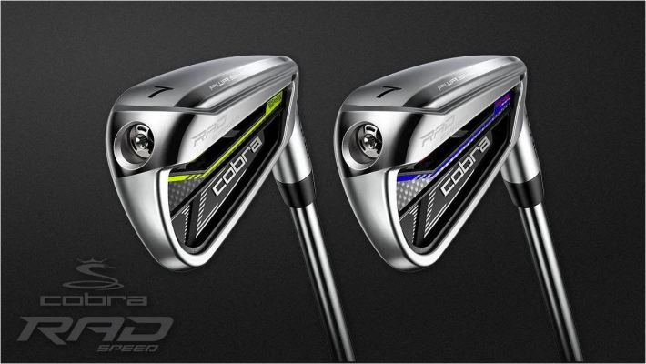 COBRA RADSPEED IRONS STANDARD LENGTH STEEL IRONS