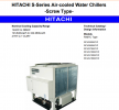 Hitachi Air-Cooled  RCUG-ASYZ Series Chillers Hitachi Air-Cooled Chiller