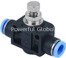 Pneumatic (FLAT) SPEED CONTROLLER One Touch Fitting