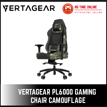 Vertagear PL6000 Gaming Chair Camouflage