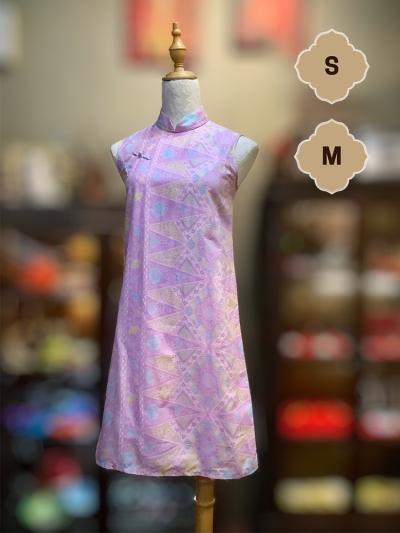 BTK(D)045 �Q�Ͽ������� | Batik Flare Qipao
