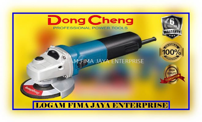 """DONG CHENG 4"""" ANGLE GRINDER DSM10-100S"""