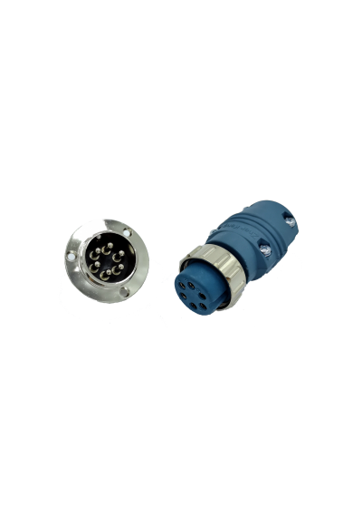 6 Pin Plug & Socket
