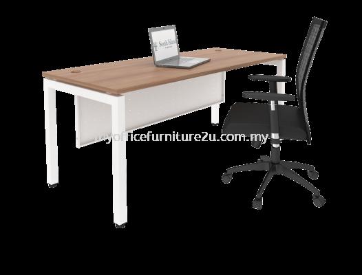 UR1890 U Leg with Rectangular Table 1800L x 900D x 750H mm (Cappuccino)