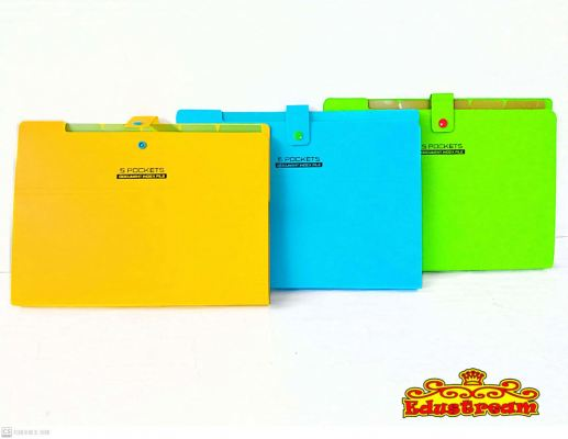 5 POCKETS DOCUMENTS INDEX FILE FA8071