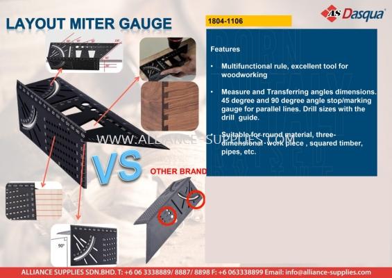 Layout Miter Gauge