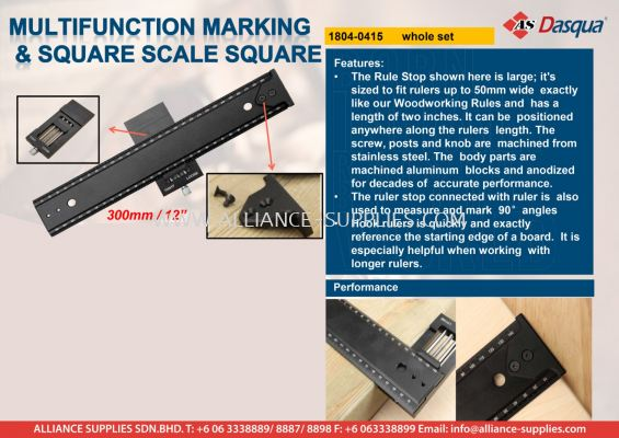 Multifunction Marking & Square Scale Square