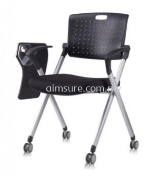 Foldable chair with tablet AIM337
