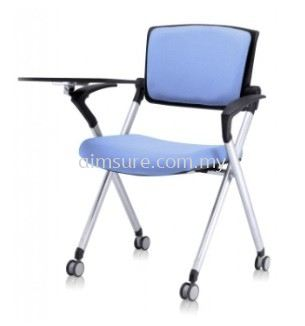 Foldable chair with armrest and tablet AIM447