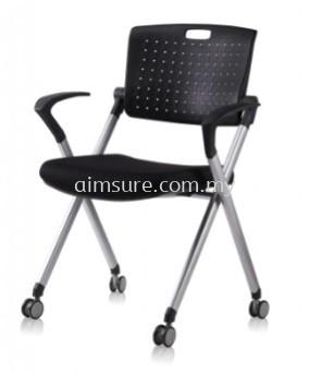 Foldable chair with armrest AIM338