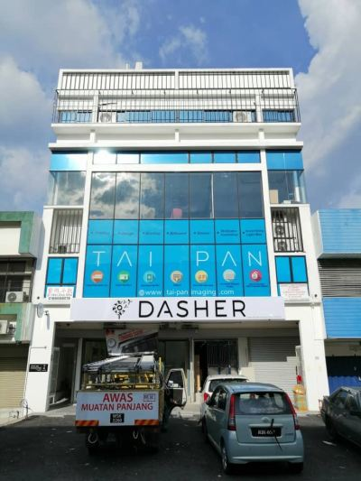 Dasher Signboard