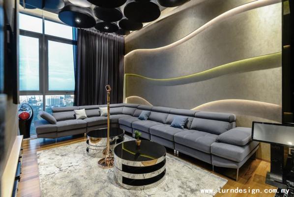 Kuala Lumpur & Selangor Finished Interior & Renovation Works Refer - SERINGIN PENT HOUSE