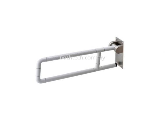 Nylon Anti-Bacterial Wall-Hinged Support Rail (100336)