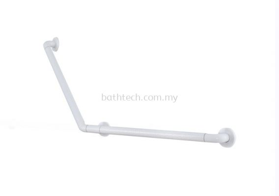Nylon Anti-Bacterial V-Shape Right Grab Bar 700x700mm (100338)