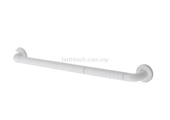 Nylon Anti-bacterial Straight Grab Bar 750mm (100342)