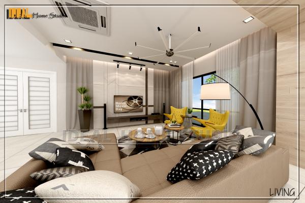 吧生雪兰莪已完工的装修与室内设计参考  - AMBANG BOTANIC 2 三层半独立洋楼