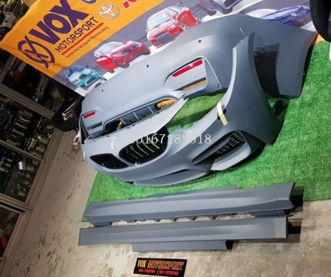 m4 bodykit for bmw f32 2 door coupe replace upgrade performance look pp material brand new set