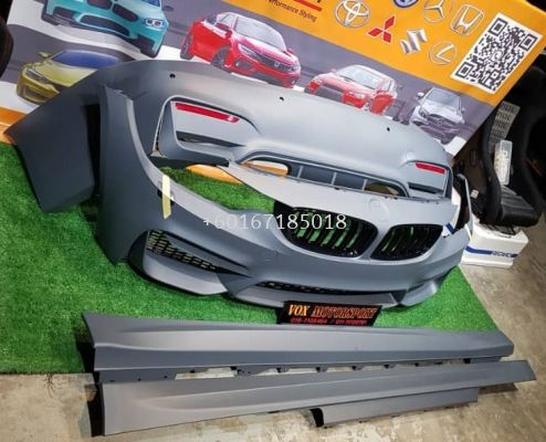 m4 bodykit convertion for bmw f32 2 door coupe replace upgrade performance look pp material brand new set